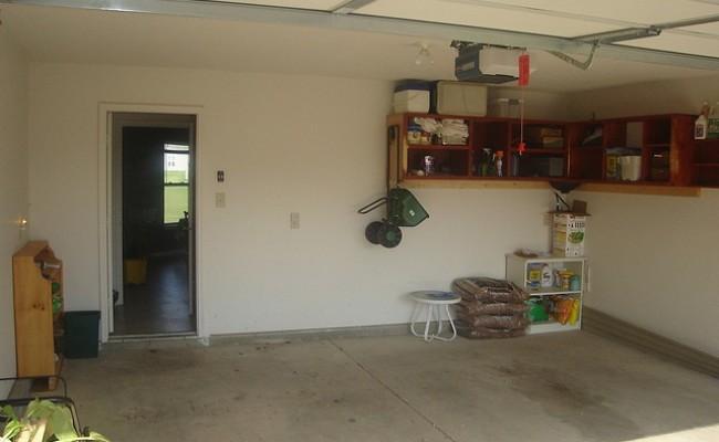 Eine eigenen Garage besitzen