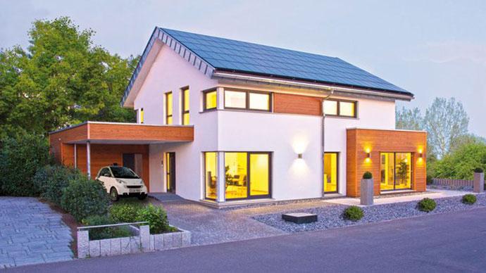 Architekt Plus Energie Haus Nürnberg: Das Plusenergiehaus